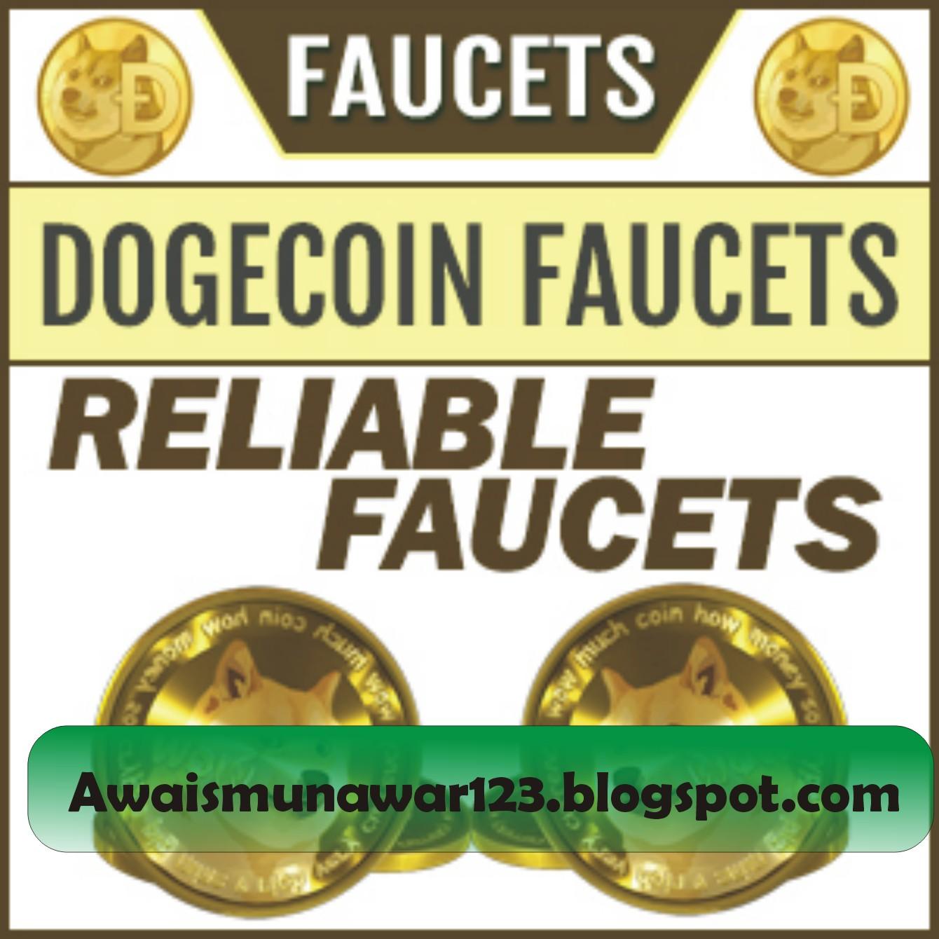 Free Dogecoin Faucet List - AWAIS MUNAWAR