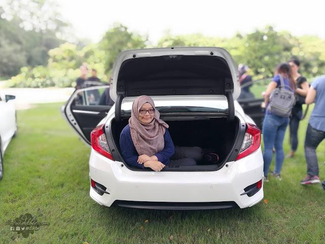 Pengalaman Memandu Kereta Honda Civic Serba Baharu