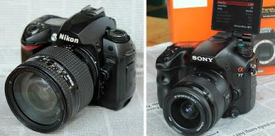 Perbandingan Kamera DSLR Lama dan Baru