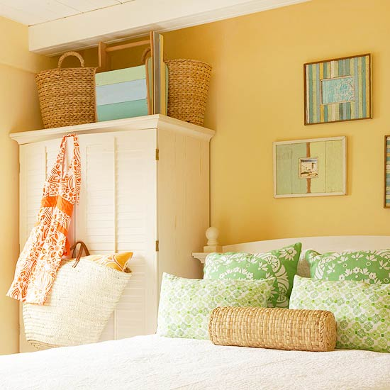 Color Paints Minimalist Bedroom Shades of Beach Houses