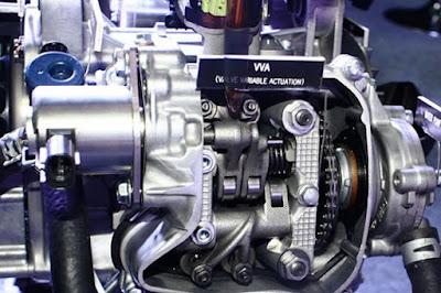 Mesin NMax dengan VVA