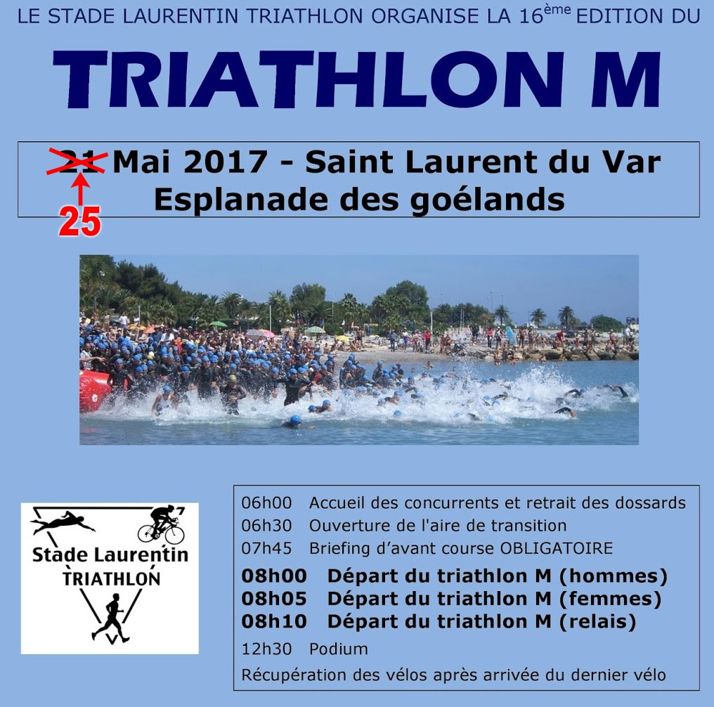 Stade laurentin triathlon - Meuble passion saint laurent du var ...