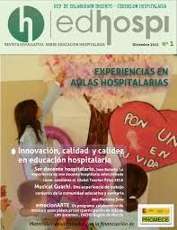 Revista EDHOSPI (Revista Divulgativa Educación Hospitalaria) nº1