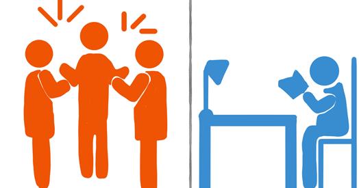 စီးပြားေရးလုပ္ငန္းမွာ Extrovert နဲ႔ Introvert သမားေတြရဲ႕ ကြာျခားခ်က္