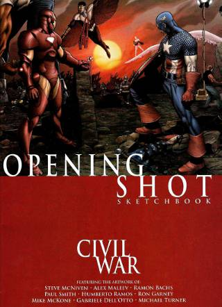Civil War Opening Shot Sketchbook PDF eBook