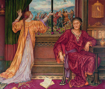 Psychological Reductionism: The Gilded Cage by Evelyn De Morgan