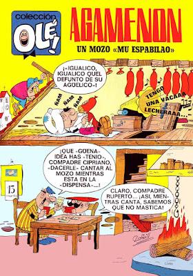 """Colección Olé nº 13, Agamenón un monzo """"mu espabilao"""""""