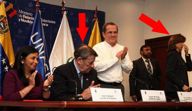 Los gases de la canciller Delcy Rodríguez