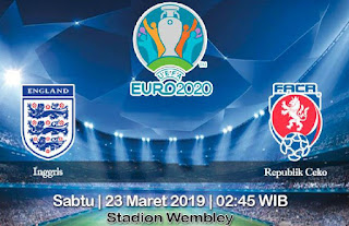 Prediksi Inggris vs Republik Ceko 23 Maret 2019