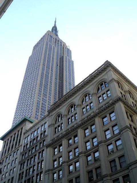 Ver el Empire State desde abajo en Nueva York