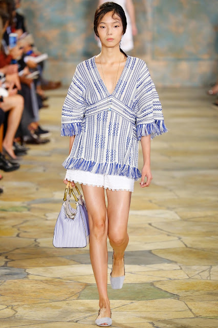 designer Tory Burch was inspired by Greece for his Spring Summer 16 collection