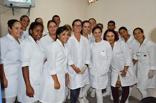Alunos do período final do curso de Técnico em Enfermagem do Senac e do Centena também vão atuar durante a campanha de vacinação e a participação contará como atividade de estágio