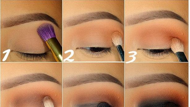 black and brown eyeshadow tutorial b g fashion