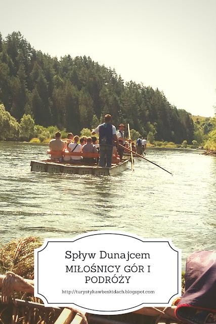 Pojedź na spływ tratwami po Dunajcu i weź udział we wspaniałej przygodzie wraz z Miłośnikami Gór i Podróży