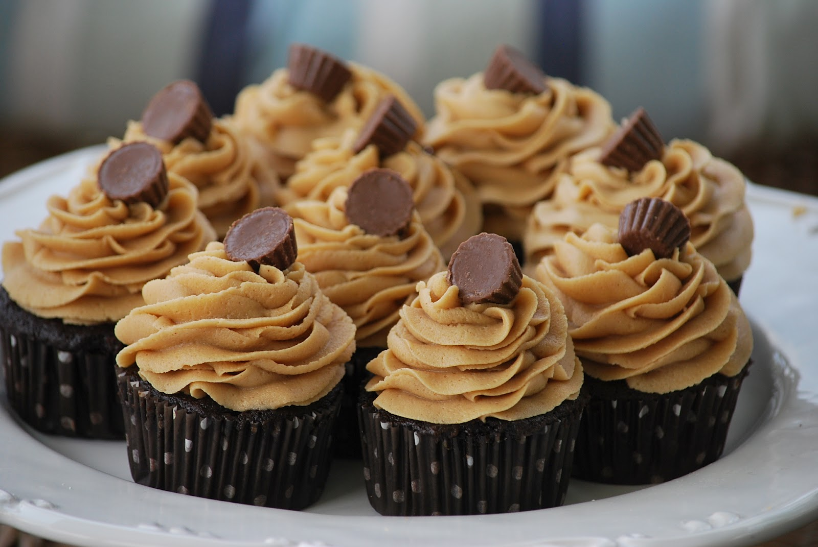 Peanut Butter Cupcakes For Childrens