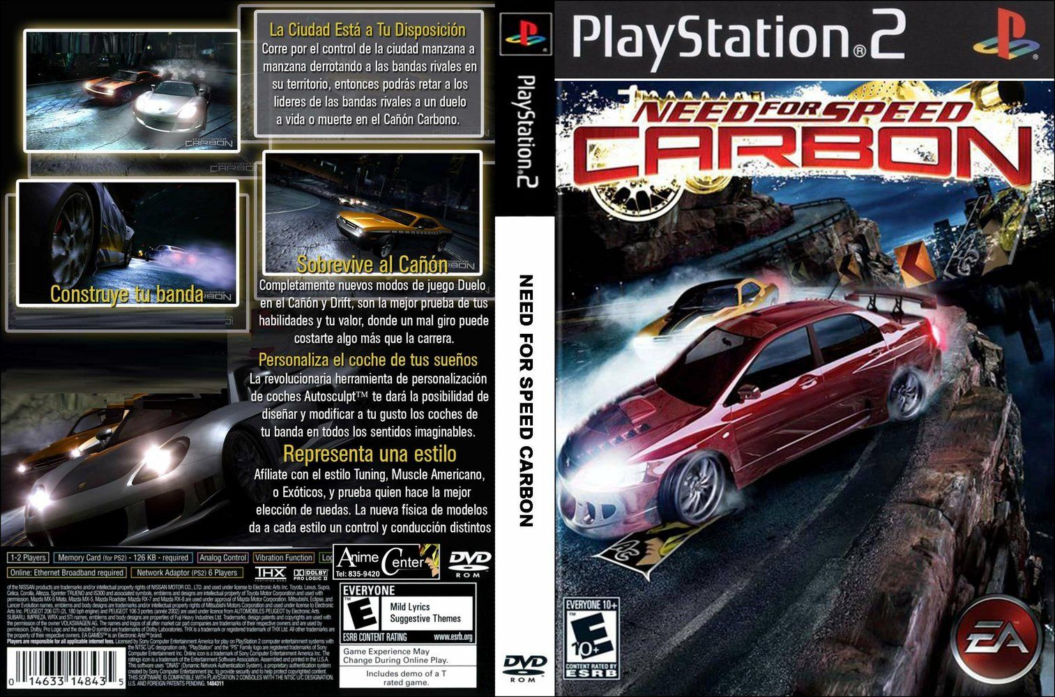 Prodajem Need for speed carbon ps2 original