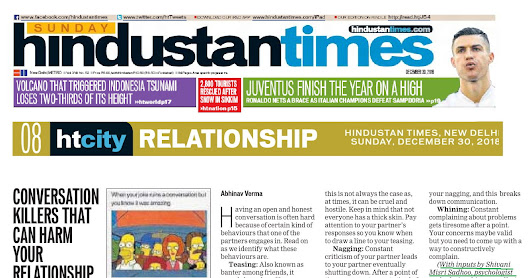 Counselor Shivan Sadhoo Shares Insight on Killer Conversations that can Harm Relationship with Hindustan Times