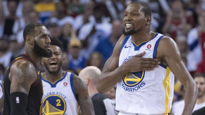 Warriors crush Cavaliers at homecourt; just a win away from copping another title