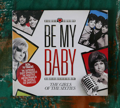 The cover for the CD compilation Be My Baby