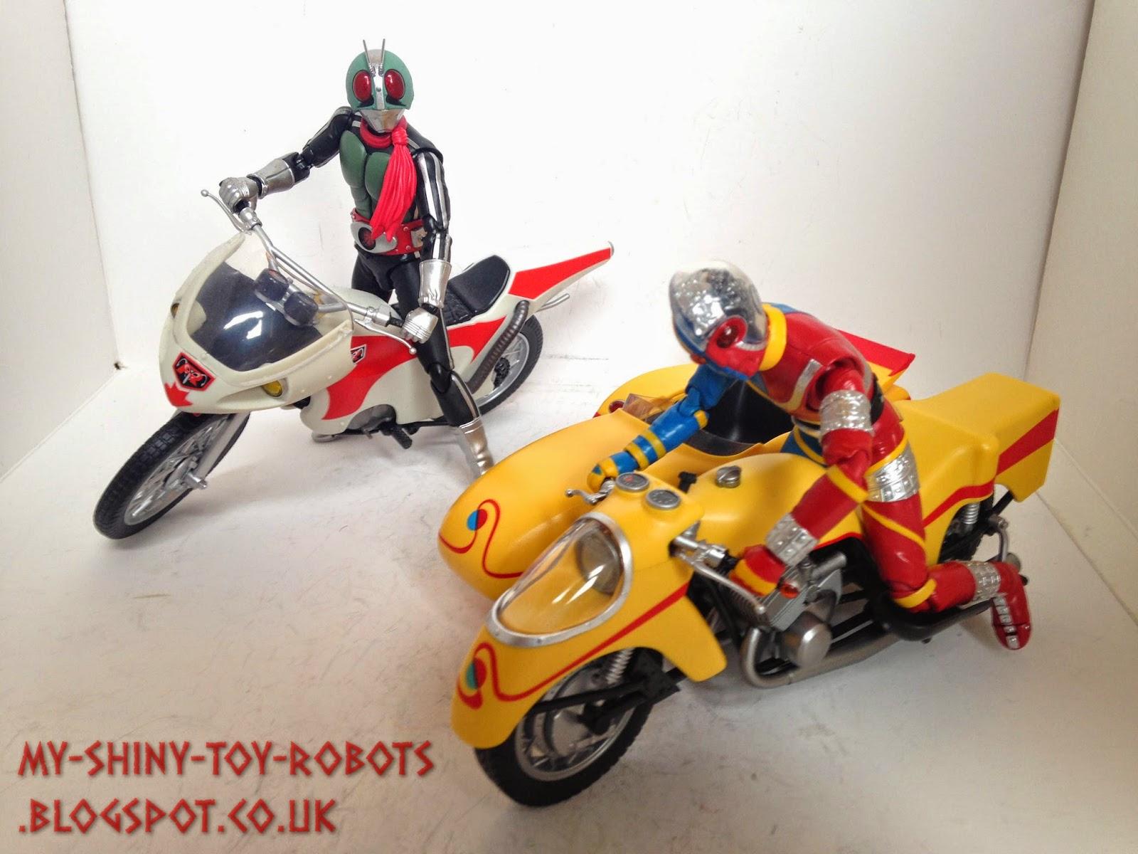 With Kamen Rider-1