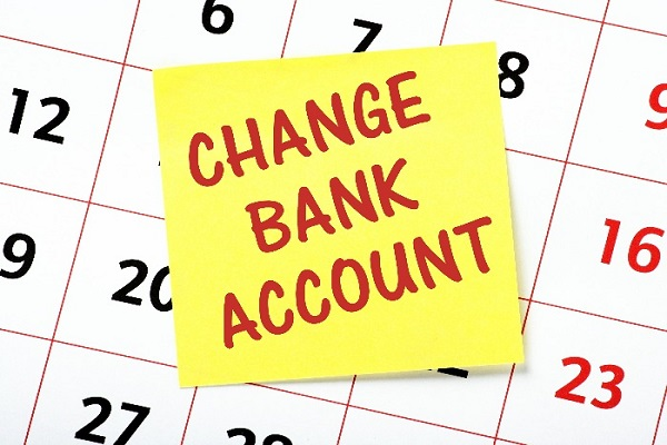 Can I Change The Bank Account My Adsense Goes Into For Another Account?