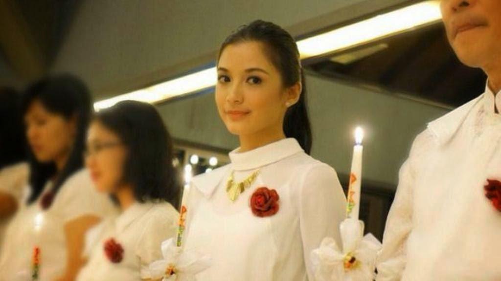Chelsea Olivia Pernah Bermimpi Menikah di Altar Gereja Katolik