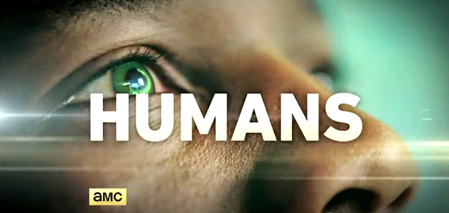 Un android din serialul Sci-Fi HUMANS