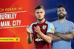 Live Streaming Burnley vs Manchester City 3 Januari 2018