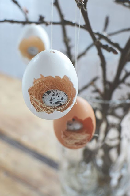 Spring is almost here and with the new season will come back the Easter vacation ✘ 26+ Creative DIY Easter Decorating Ideas You Will Make