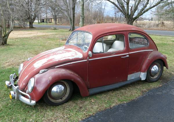 1963 Lowered Beetle For Sale