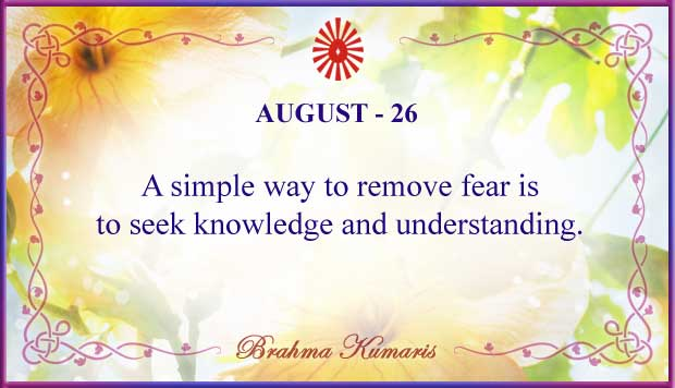 Thought For The Day August 26