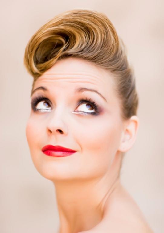 Creativo peinados vintage Fotos de consejos de color de pelo - 30 Bonitos Peinados Vintage 2013 Mujeres - Peinados cortes ...