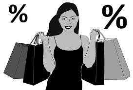 Image: black friday sales discount woman bag bargain
