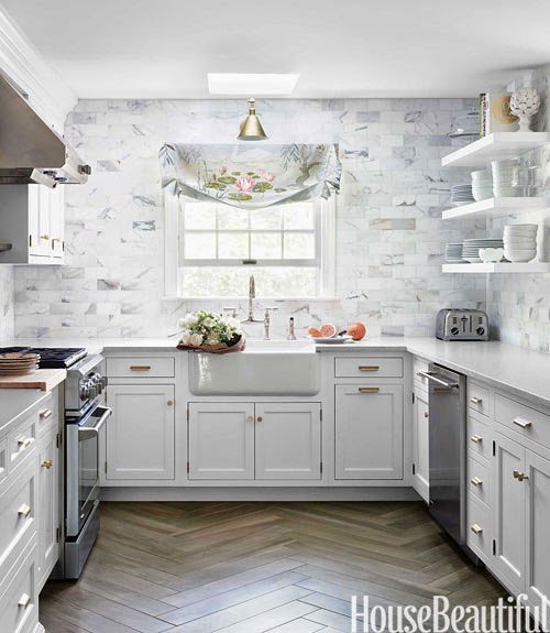 Here Are My Thoughts So Far On The Options Source White Counters Marble Backsplash