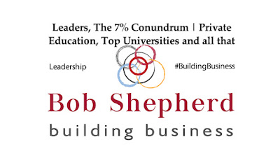 Supporting image for Bob Shepherd Associates Article - Leaders, The 7% conundrum