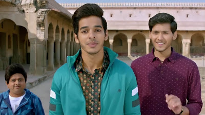 ishaan khatter images in dhadak movie 2018