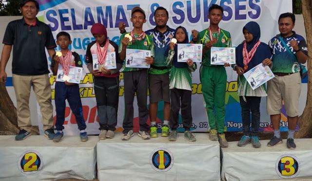 Atlet panahan asal Lumajang meraih medali emas