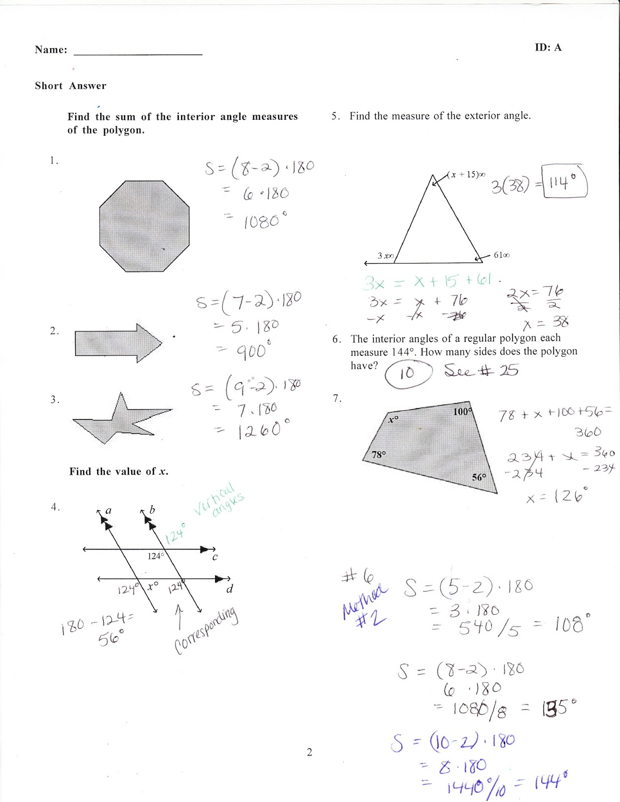 Ms Jean S Accel 7 Blog Accel Chapter 3 Math Practice Test Answers