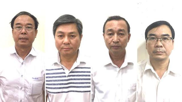 Ông Nguyễn Thành Tài, Đào Anh Kiệt, Nguyễn Hoài Nam, Trương Văn Út