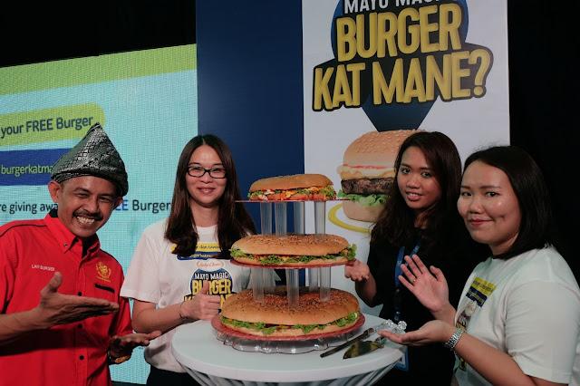 Pelancaran rasmi laman web Burger Kat Mane? www.burgerkatmane.com.my;