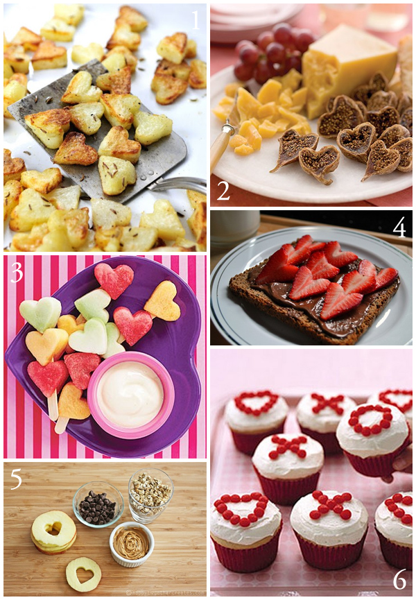 valentines day food ideas for a party - 600×865