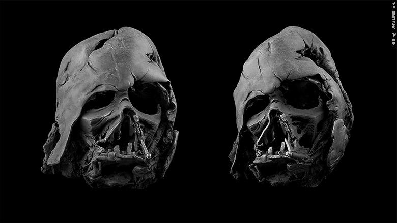 Darth Vader: estudio de las deformidades de la mascara de darth ...