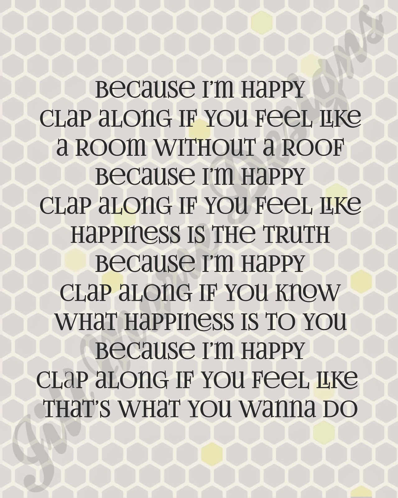 Pharrell Happy Song Lyrics Quotes. QuotesGram