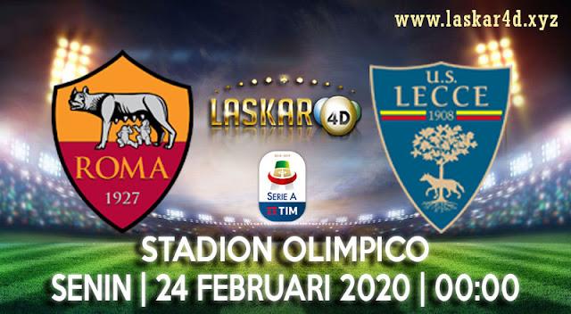 Prediksi Pertandingan As Roma vs Lecce 24 Februari 2020