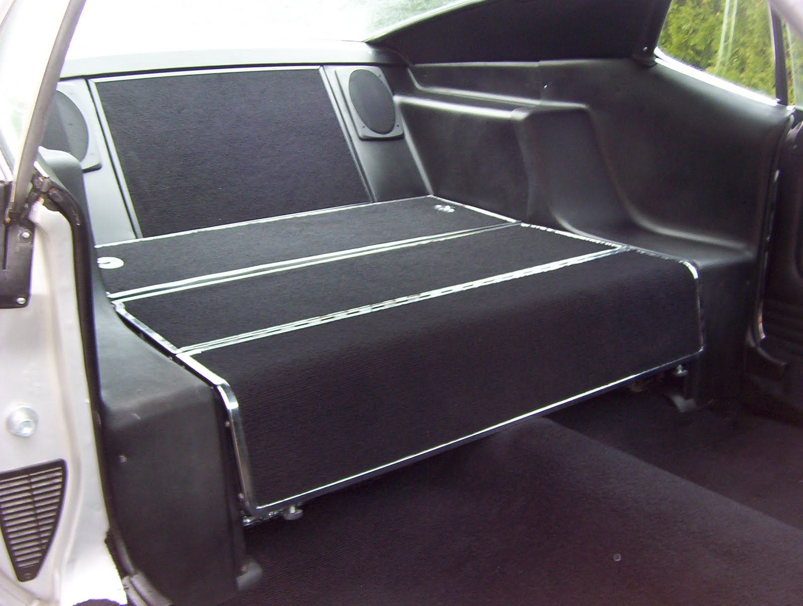 1972 Eleanor Mustang: Sound Deadening Pads, Insulation