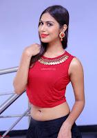 Nishi Gandha in Beautiful Red Crop Top ~  Exclusive 010.jpg