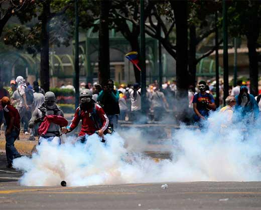 Jornadas de protestas entre el 4 y 10 de abril han dejado 281 detenidos