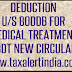 Income Tax Deduction u/s 80DDB AY 2017-18-CBDT New Circular