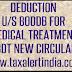 Income Tax Deduction u/s 80DDB AY 2017-18-CBDT New Circular
