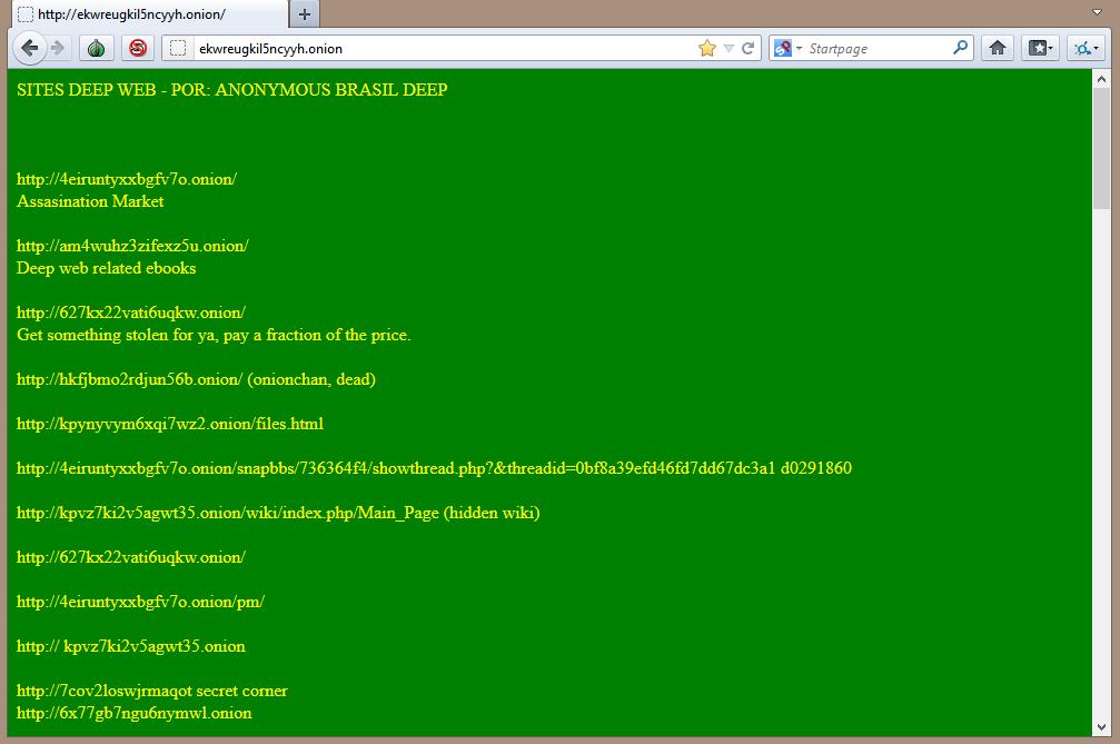 Deep Web: Tor - Acessando os primeiros sites - Saiba na Web